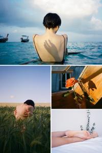 35mm Film Photography Fine Art Series by Nick Prideaus Contax T2 Kodak Portra 400