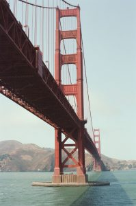 The Golden Gate Bridge on 35mm color film - San Francisco Photo Essay by Nick Hogan on Shoot It With Film