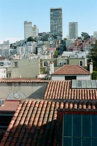 San Francisco rooftops on 35mm color film - San Francisco Photo Essay by Nick Hogan on Shoot It With Film