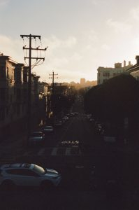 City street on 35mm color film - San Francisco Photo Essay by Nick Hogan on Shoot It With Film