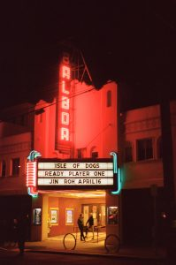 Nighttime marquee on 35mm color film - San Francisco Photo Essay by Nick Hogan on Shoot It With Film