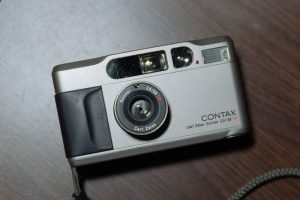 The Contax T2 Point and Shoot Film Camera - 5 Point and Shoot Film Cameras by Kathleen Frank on Shoot It With Film