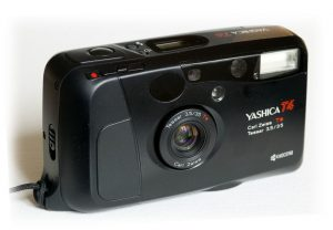 The Yashica T4 Point and Shoot Film Camera - 5 Point and Shoot Film Cameras by Kathleen Frank on Shoot It With Film