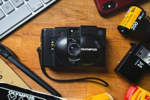 The Olympus XA2 Point and Shoot Film Camera - 5 Point and Shoot Film Cameras by Kathleen Frank on Shoot It With Film