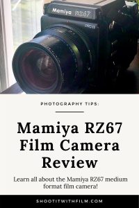 Mamiya RZ67 Review - Medium Format Film Camera