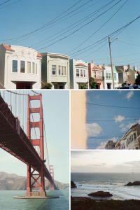 San Francisco on 35mm Film Kodak Portra 400
