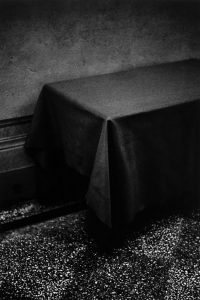 Silver gelatin print of a table - Silver Gelatin Prints by Mikael Siirlia on Shoot It With Film