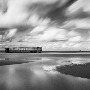 Black and white film photography long exposure of clouds and water - Understanding Reciprocity Failure in Long Exposure Film Photography by James Baturin on Shoot It With Film