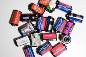 Rolls of film - 10 Awesome Gifts for Film Photographers on Shoot It With Film