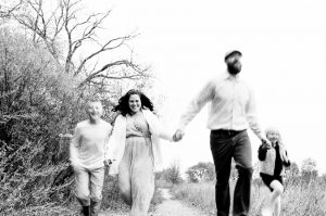 35mm film photography of a family holding hands - 5 Creative Film Photography Projects to Try When You're Uninspired by Amy Berge on Shoot It With Film