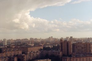 Cityscape on 35mm film - Eastern Europe Travel Story by Taylor Stoker on Shoot It With Film