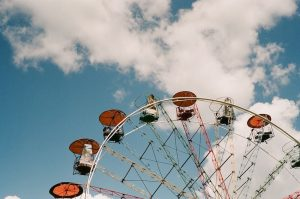 Ferris wheel on 35mm film - Eastern Europe Travel Story by Taylor Stoker on Shoot It With Film