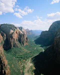Zion landscape on Velvia 50 slide film - Film Photography Slide Film Guide by David Rose on Shoot It With Film