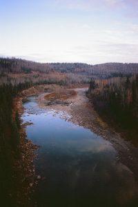 River landscape on Velvia 100 slide film - Film Photography Slide Film Guide by David Rose on Shoot It With Film
