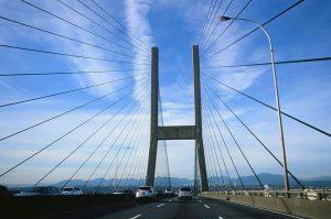 Alaska bridge on Velvia 100 slide film - Film Photography Slide Film Guide by David Rose on Shoot It With Film