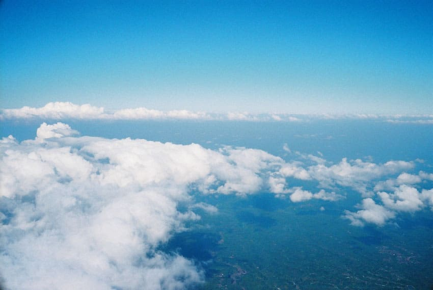 Clouds on 35mm film - Mt Agung Bali Travel Story by Kamal Tung on Shoot It With Film
