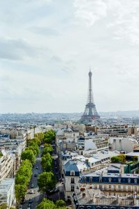 Paris cityscape - Paris in Summer 35mm Film Travel Story by Marissa Wu on Shoot It With Film