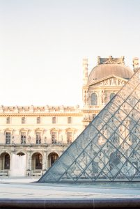 The Louvre - Paris in Summer 35mm Film Travel Story by Marissa Wu on Shoot It With Film