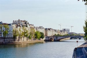 River in Paris - Paris in Summer 35mm Film Travel Story by Marissa Wu on Shoot It With Film