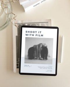 Shoot It With Film Magazine Issue 01 Promo Image