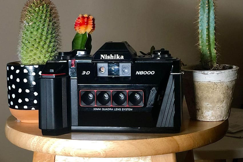 3D Film Photography Nishika N8000 Stereoscopic Camera by John Adams III on Shoot It With Film Featured Image