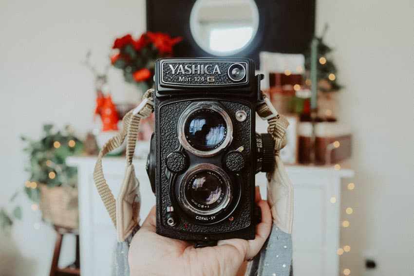 Yashica Mat-124G Medium Format Film Camera - Yashica Mat-124G Camera Review by Samantha Stortecky on Shoot It With Film