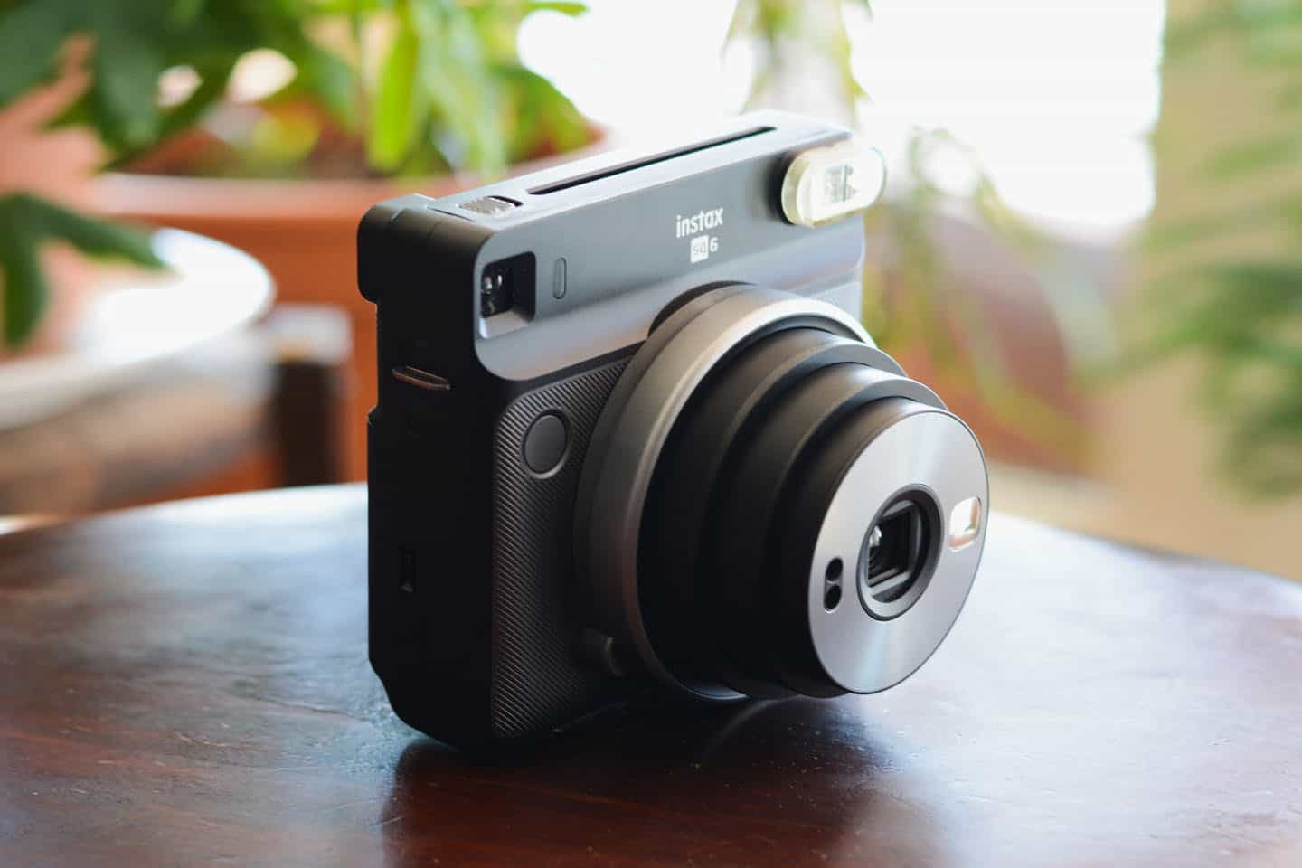 Front view of the Fuji Instax Square SQ6 - Fujifilm Instax Square SQ6 Review by James Baturin on Shoot It With Film