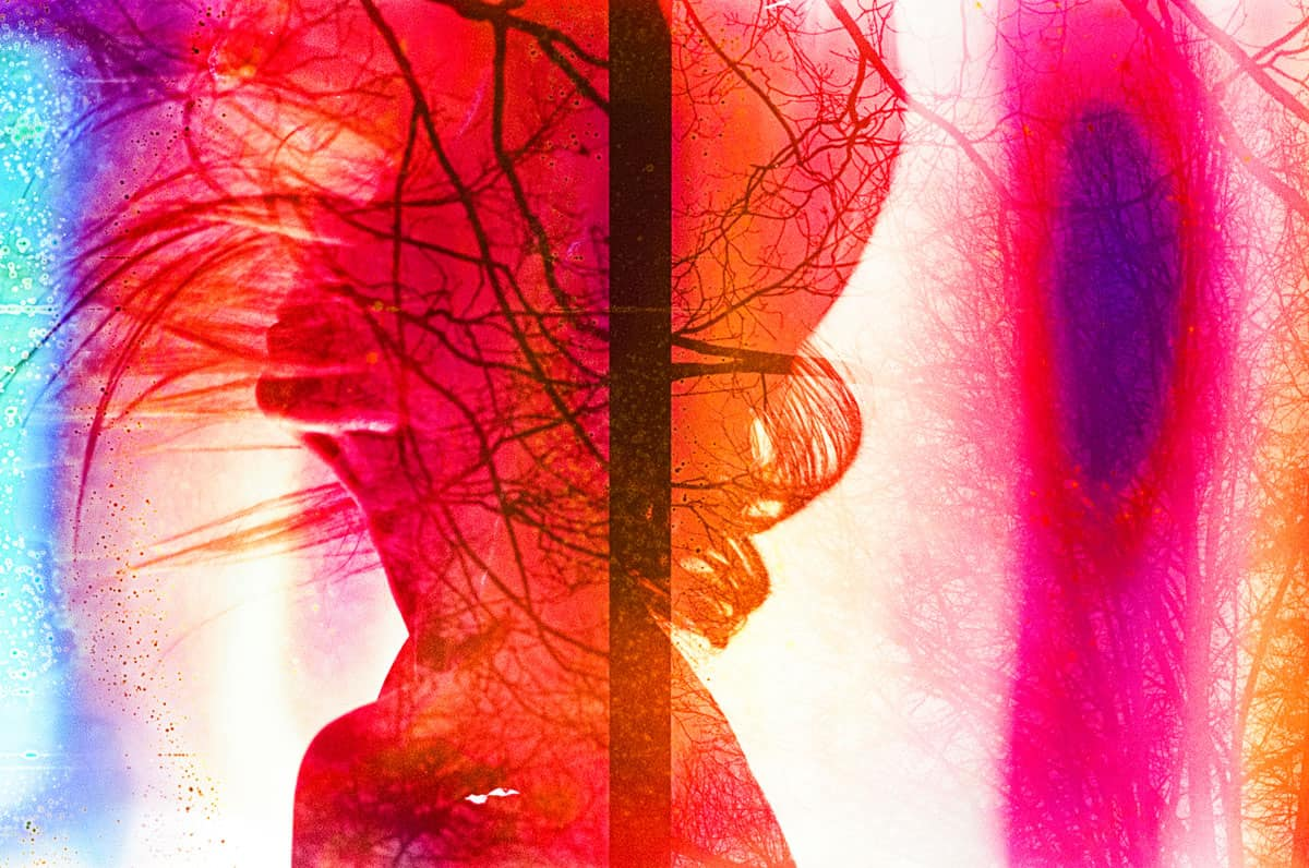 Back lighting silhouette self portrait on film - How to do Self Portraits on Film by Amy Berge on Shoot It With Film