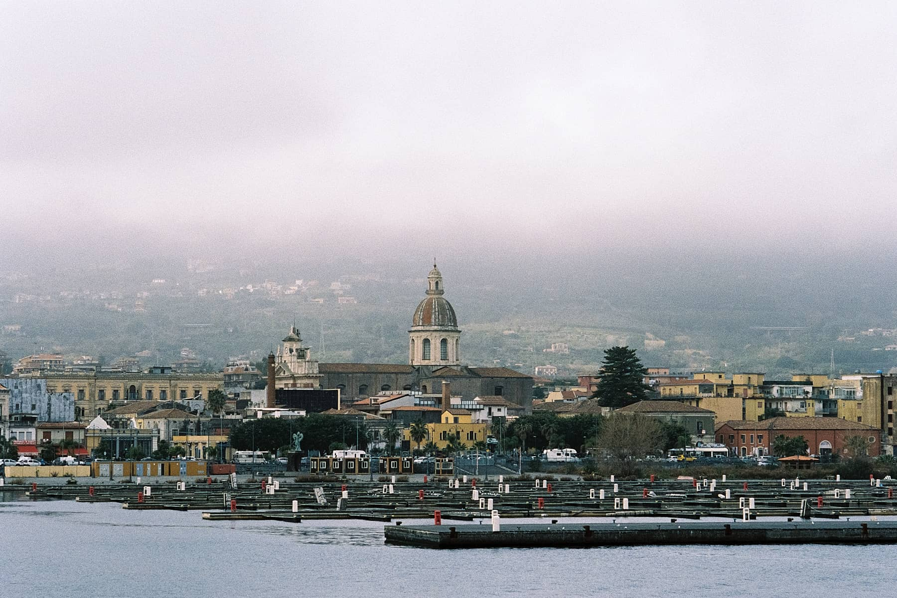 35mm film image of Sicily in winter by Thomas Berlin on Shoot It With Film