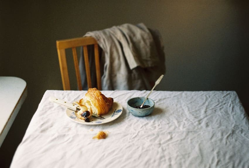 35mm film image of a table - Quiet Day at Home by Marta Karcz on Shoot It With Film