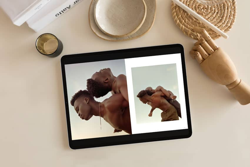 The Shoot It With Film Magazine Issue 03 shown on an iPad