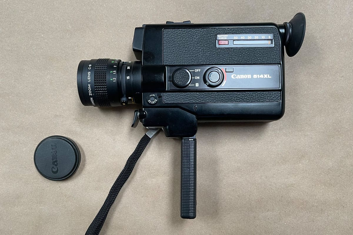 The Canon 514XL Super 8 Camera - Tips for Buying a Super 8 Camera by Jen Golay on Shoot It With Film