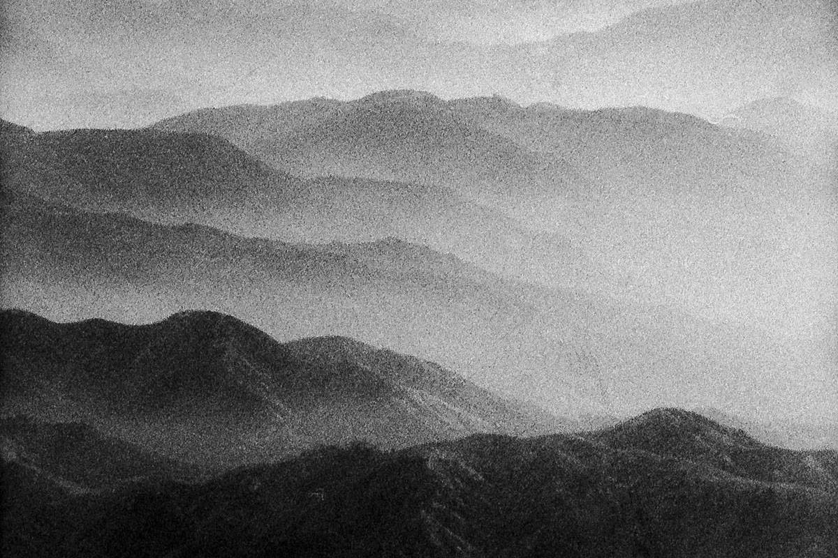 B&W 35mm film image of mountains - 5 Film Photography Mistakes to Avoid by John Adams III on Shoot It With Film