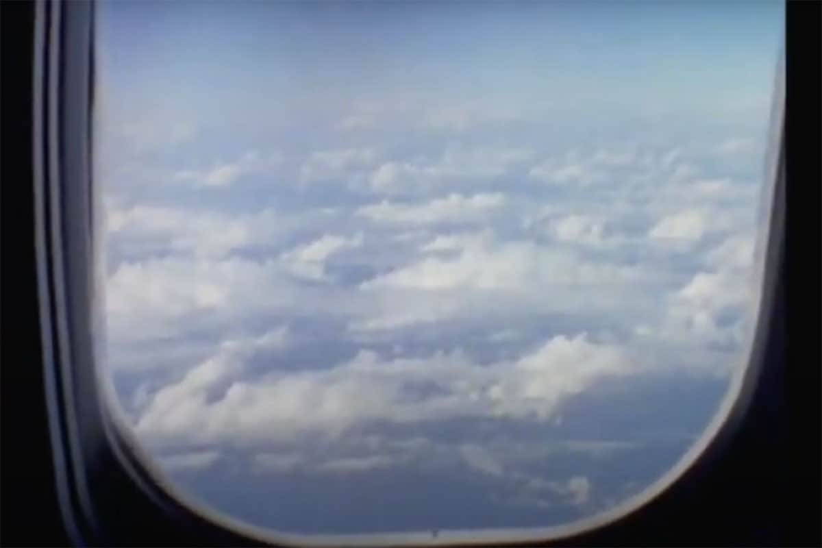 Clouds through an airplane window - Super 8 Filmmaking Techniques by Jen Golay on Shoot It With Film