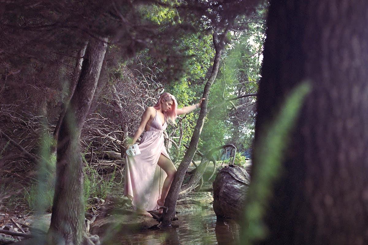 Medium format film portrait - Thalia Fine Art Series by Courtney Bell on Shoot It With Film