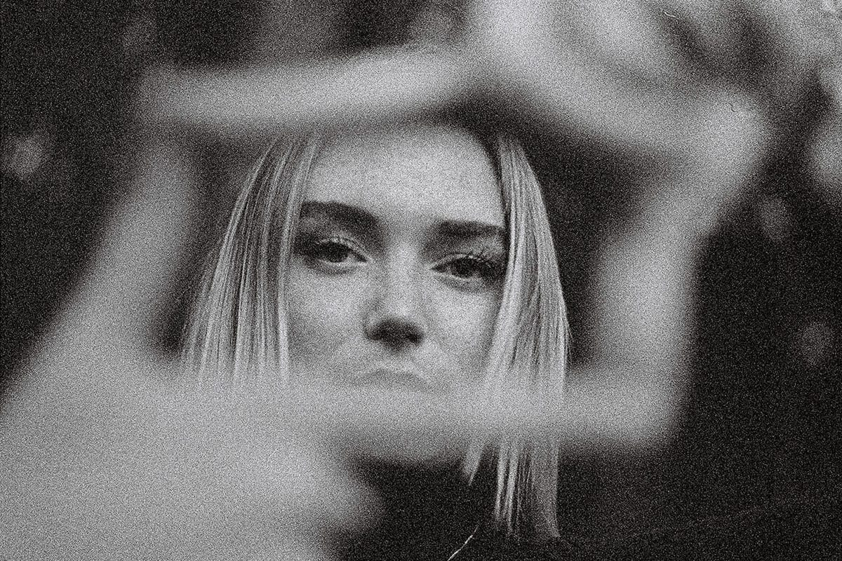35mm black and white film portrait of a woman - Grainy Sundays by Lance James Daniels on Shoot It With Film