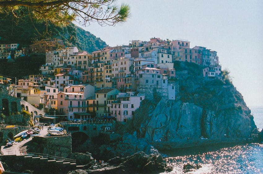 35mm film photography image of a landscape in Italy - Italy Travel Series by Katie McClintock on Shoot It With Film